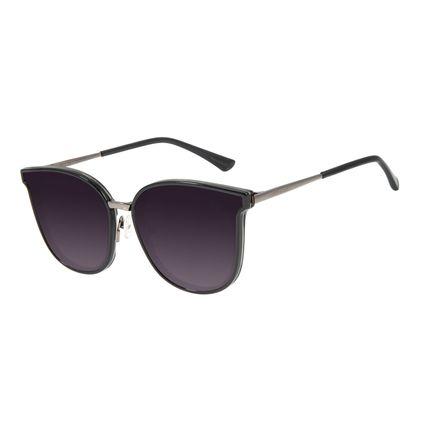Óculos de Sol Feminino Chilli Beans Casual Degradê Preto OC.CL.3255-2001