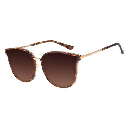 Óculos de Sol Feminino Chilli Beans Casual Tartaruga OC.CL.3255-5706