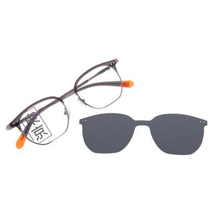 Armação Para Óculos de Grau Masculino Tokyo Multi Preto Polarizado LV.MU.0435-0101