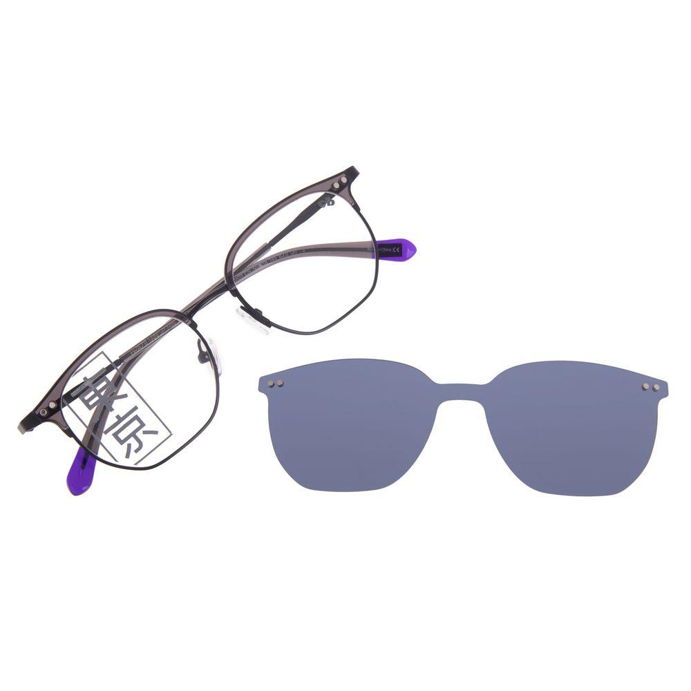Armação Para Óculos de Grau Masculino Tokyo Multi Azul Polarizado LV.MU.0435-0801