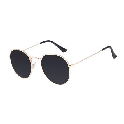 Óculos de Sol Unissex Chilli Beans Redondo Casual Verde OC.MT.3087-1521