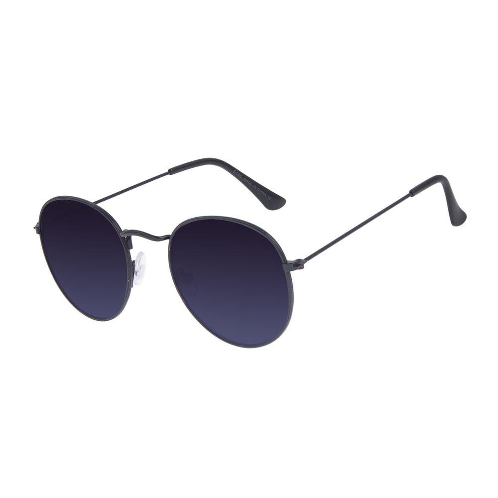 Óculos de Sol Unissex Chilli Beans Redondo Casual Degradê OC.MT.3087-8201