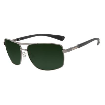 Óculos de Sol Masculino Chilli Beans Executivo Metal Brilho Verde OC.MT.3208-1524