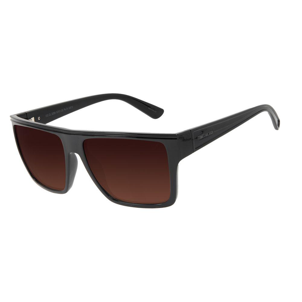 Óculos de Sol Unissex Chilli Beans Essential Bossa Nova Degradê Marrom OC.CL.3259-5701