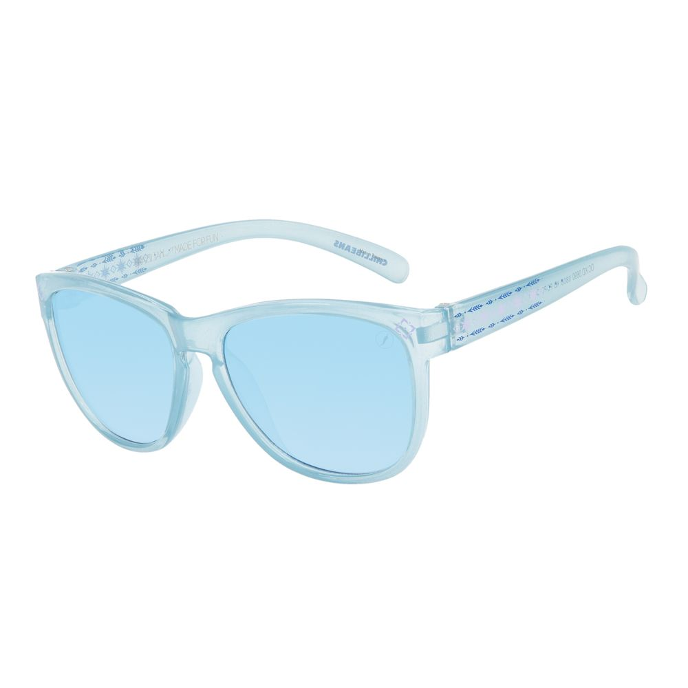 Óculos de Sol Infantil Disney Frozen Flocos de Neve Azul OC.KD.0690-0808