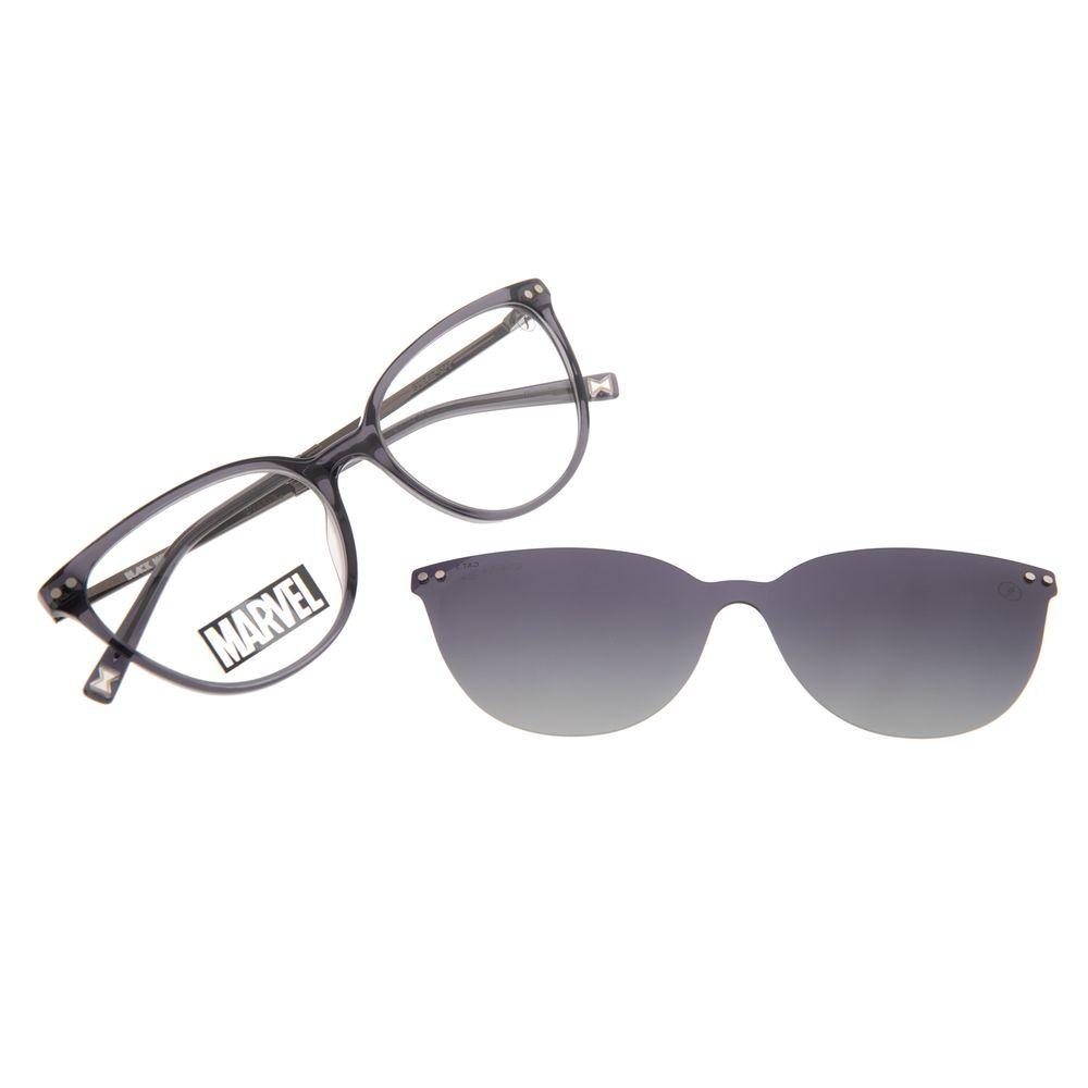 Armação Para Óculos de Grau Feminino Marvel Viúva Negra Multi Degradê Polarizado LV.MU.0578-2001