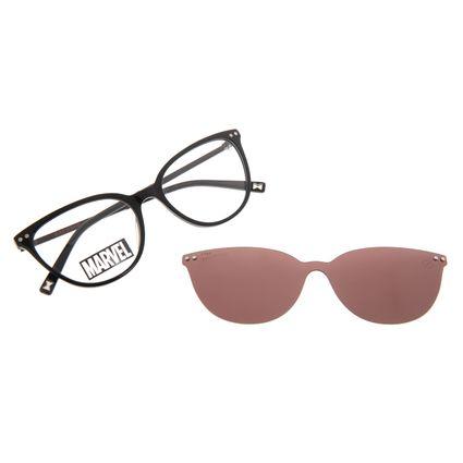 Armação Para Óculos de Grau Feminino Marvel Viúva Negra Multi Preto Polarizado LV.MU.0578-1701