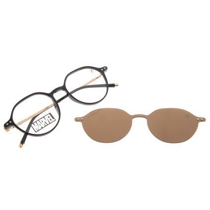 Armação Para Óculos de Grau Masculino Marvel Homem Aranha Multi Preto Polarizado LV.MU.0579-0201