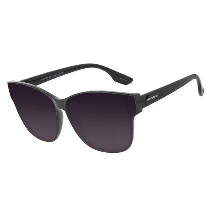 Óculos de Sol Feminino Chilli Beans Quadrado Clássico Preto OC.CL.3222-2001