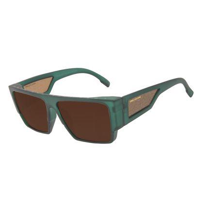 Óculos de Sol Masculino Marvel Pantera Negra Quadrado Tribal Verde OC.CL.3308-0259