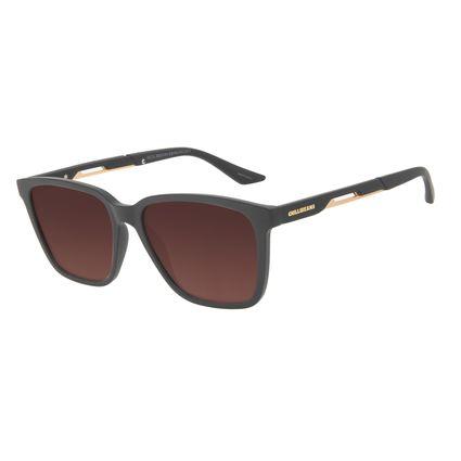 Óculos de Sol Masculino Marvel Homem de Ferro Quadrado Marrom OC.CL.3333-5701