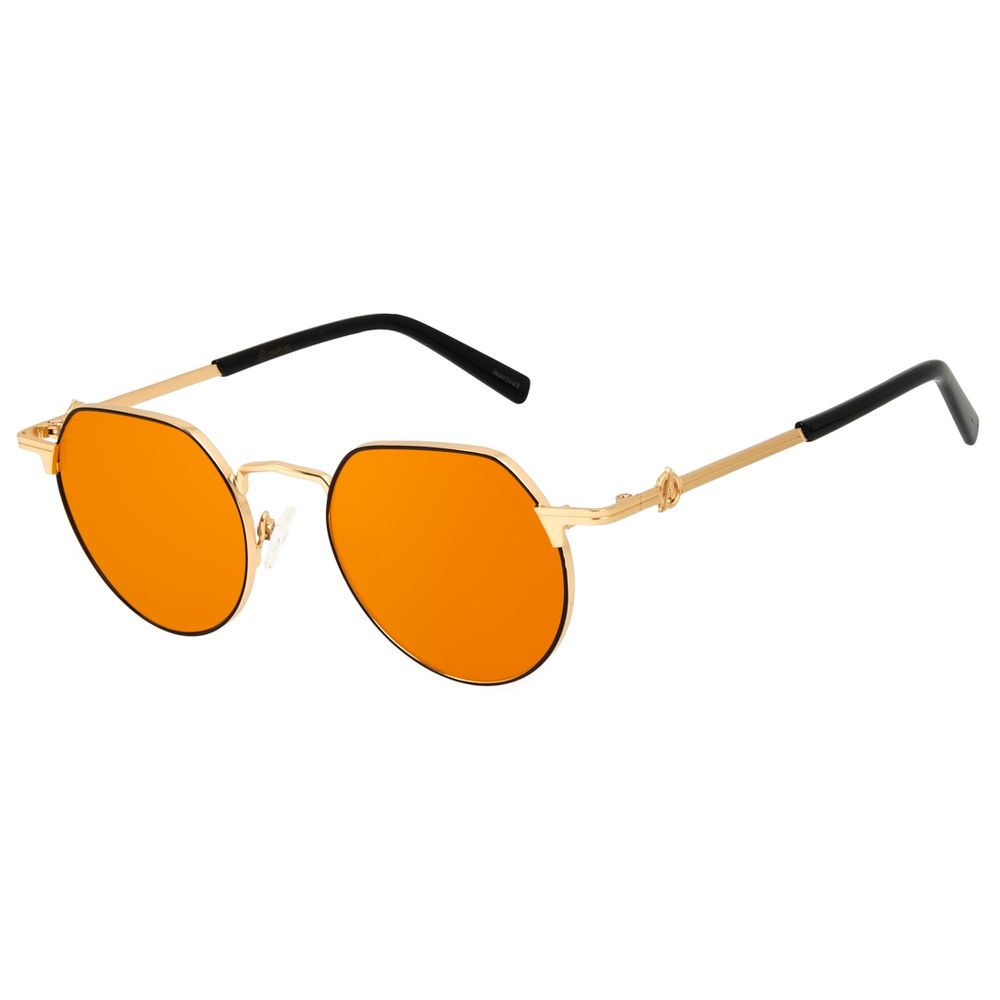 Óculos de Sol Masculino Marvel Avengers Redondo Dourado OC.MT.3139-1621