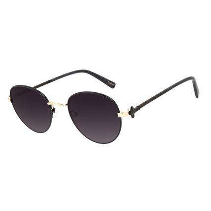 Óculos de Sol Masculino Marvel Thor Redondo Preto OC.MT.3140-2001
