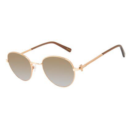 Óculos de Sol Masculino Marvel Thor Redondo Marrom OC.MT.3140-5702