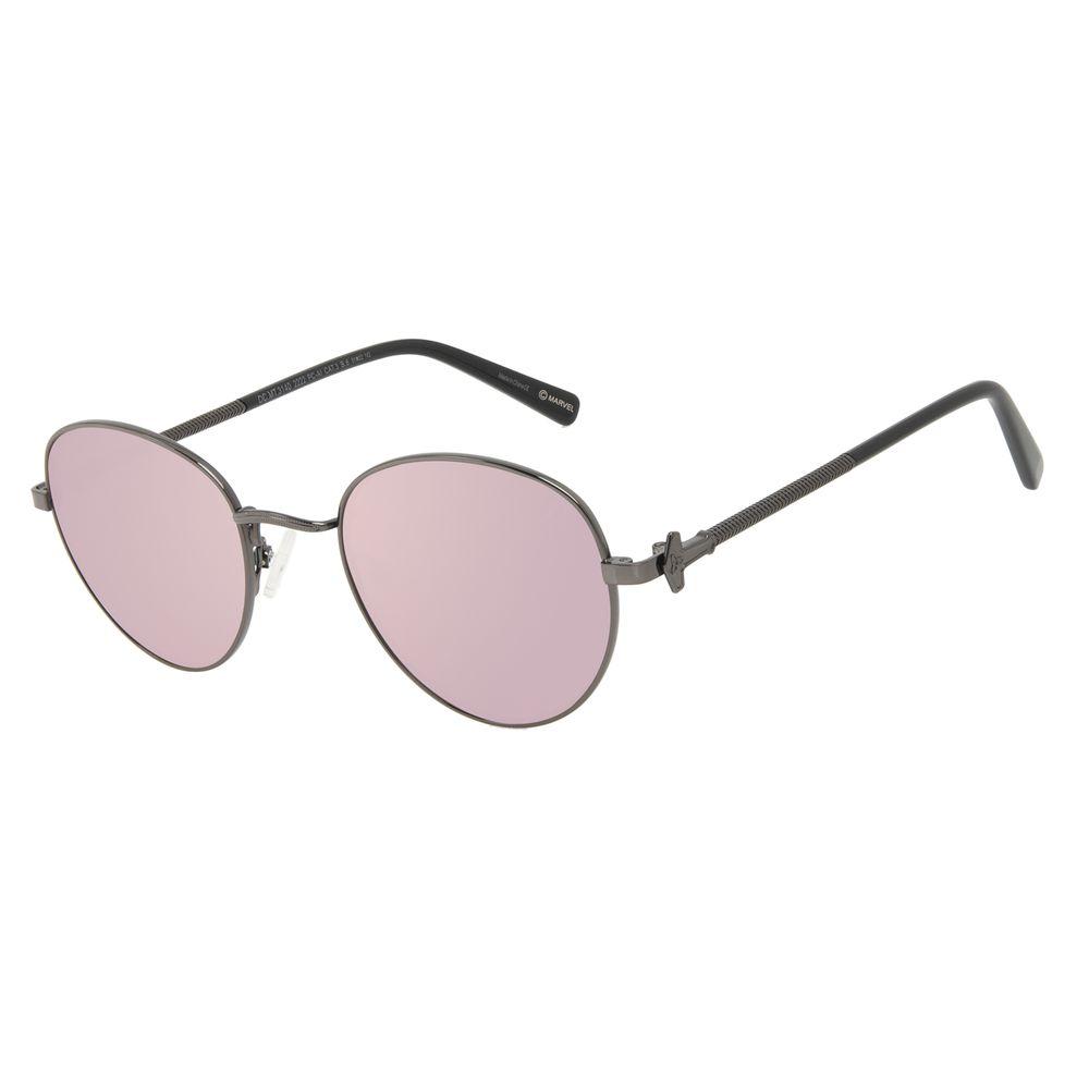 Óculos de Sol Masculino Marvel Thor Redondo Ônix OC.MT.3140-2222