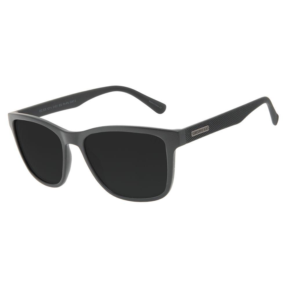 Óculos de Sol Masculino Chilli Beans New Sport Fosco Preto OC.ES.1271-0101
