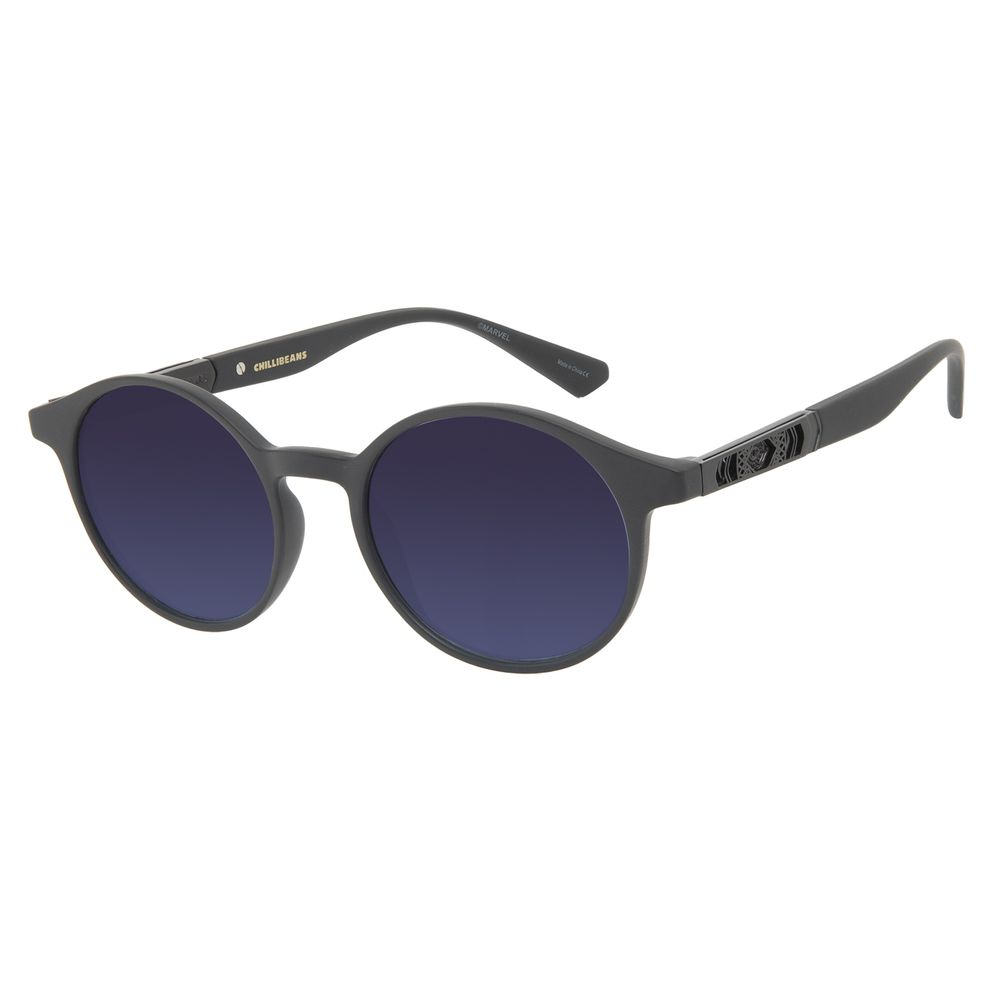 Óculos de Sol Masculino Marvel Doutor Estranho Redondo Degradê OC.CL.3332-8301