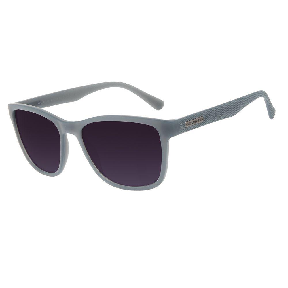 Óculos de Sol Masculino Chilli Beans New Sport Fosco Cinza OC.ES.1271-2004