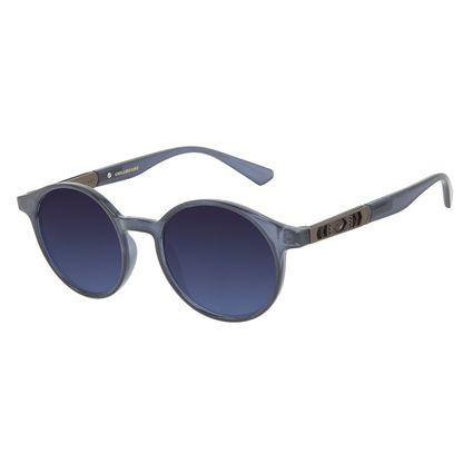 Óculos de Sol Masculino Marvel Doutor Estranho Redondo Azul OC.CL.3332-0208