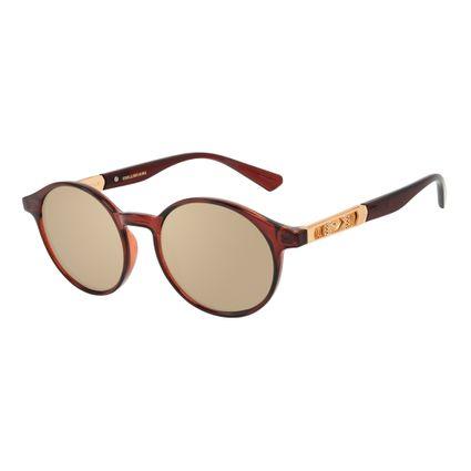 Óculos de Sol Masculino Marvel Doutor Estranho Redondo Vinho OC.CL.3332-0517
