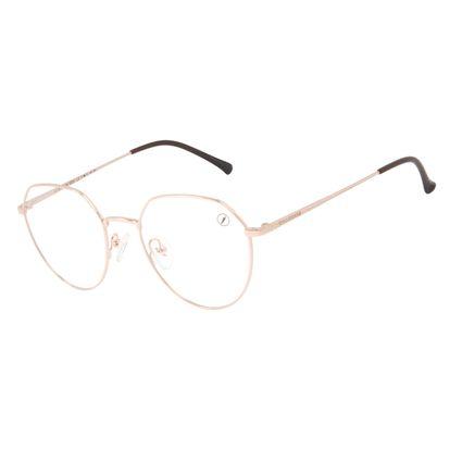 Armação Para Óculos de Grau Unissex Chilli Beans Metal Fosco Rosé LV.MT.0504-9595