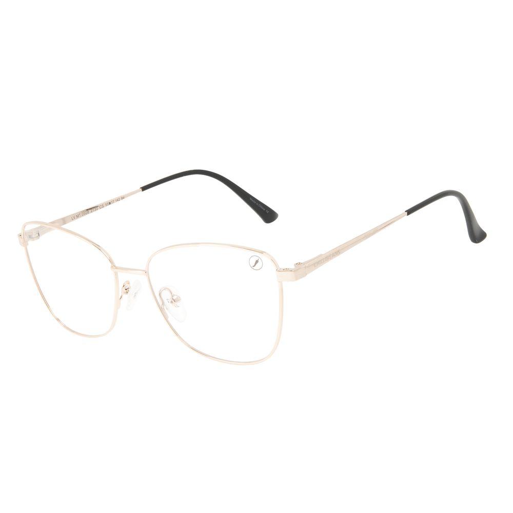 Armação Para Óculos de Grau Feminino Chilli Beans Cat Brilho LV.MT.0508-2130