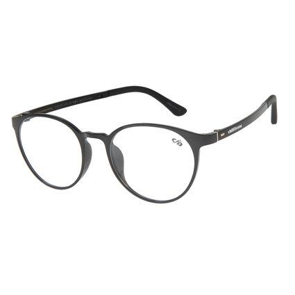 Armação Para Óculos de Grau Unissex Chilli Beans Redondo Casual Preto LV.IJ.0213-0101