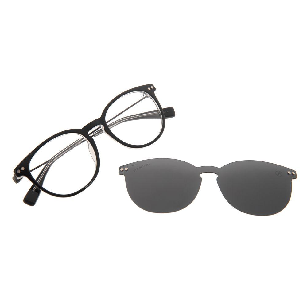 Armação Para Óculos de Grau Masculino Chilli Beans Multi Polarizado Preto LV.MU.0556-0101