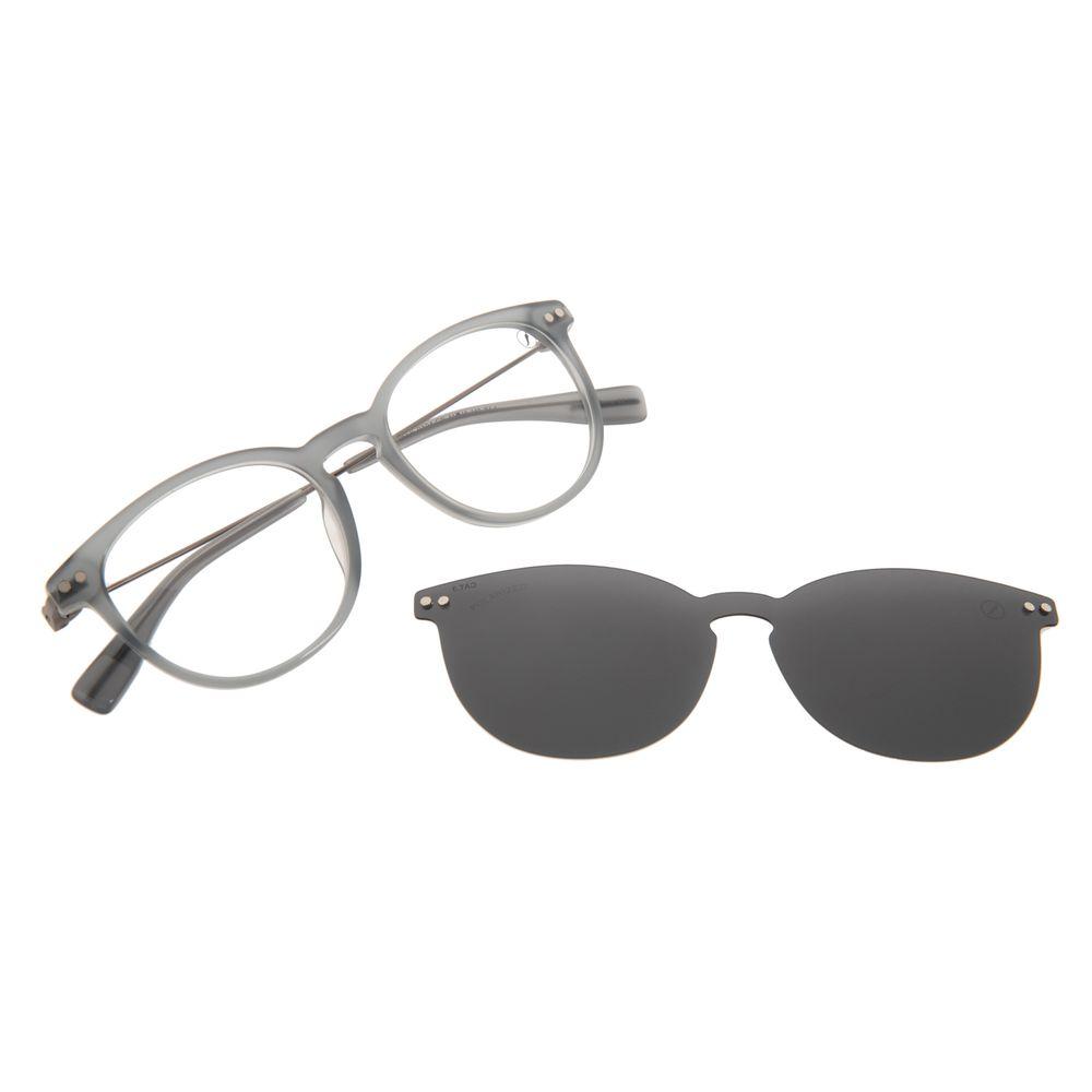 Armação Para Óculos de Grau Masculino Chilli Beans Multi Polarizado Cinza LV.MU.0556-0104