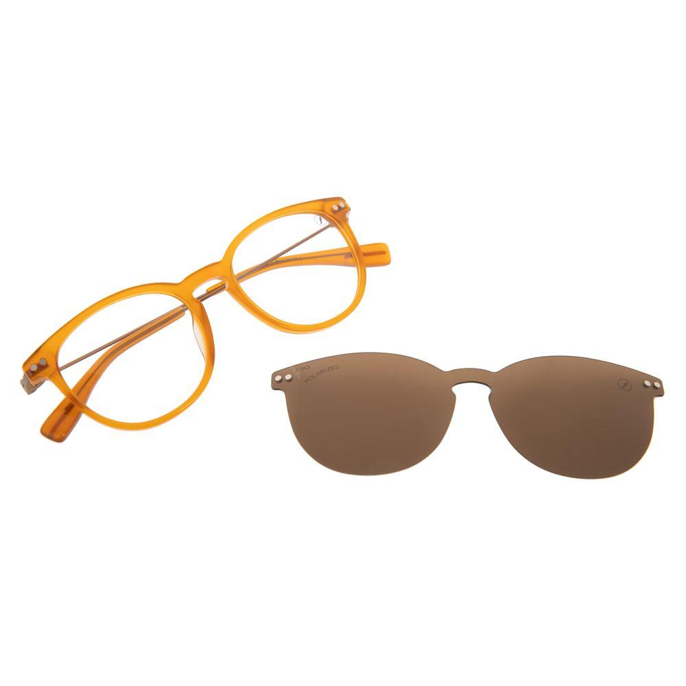 Armação Para Óculos de Grau Masculino Chilli Beans Multi Polarizado Amarelo LV.MU.0556-0209