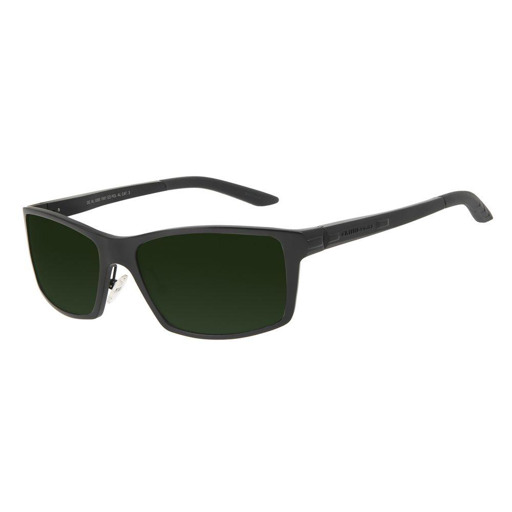 Óculos de Sol Masculino Chilli Beans Performance Verde Polarizado OC.AL.0266-1501