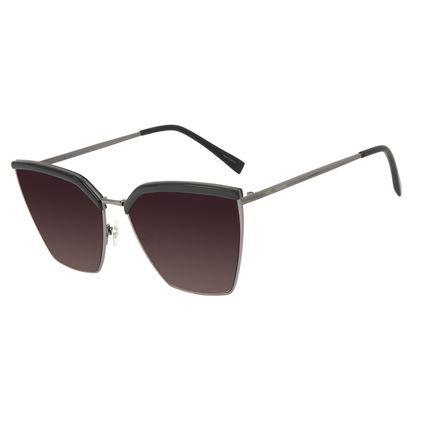 Óculos de Sol Feminino Chilli Beans Quadrado Clássico Ônix OC.CL.3186-2022