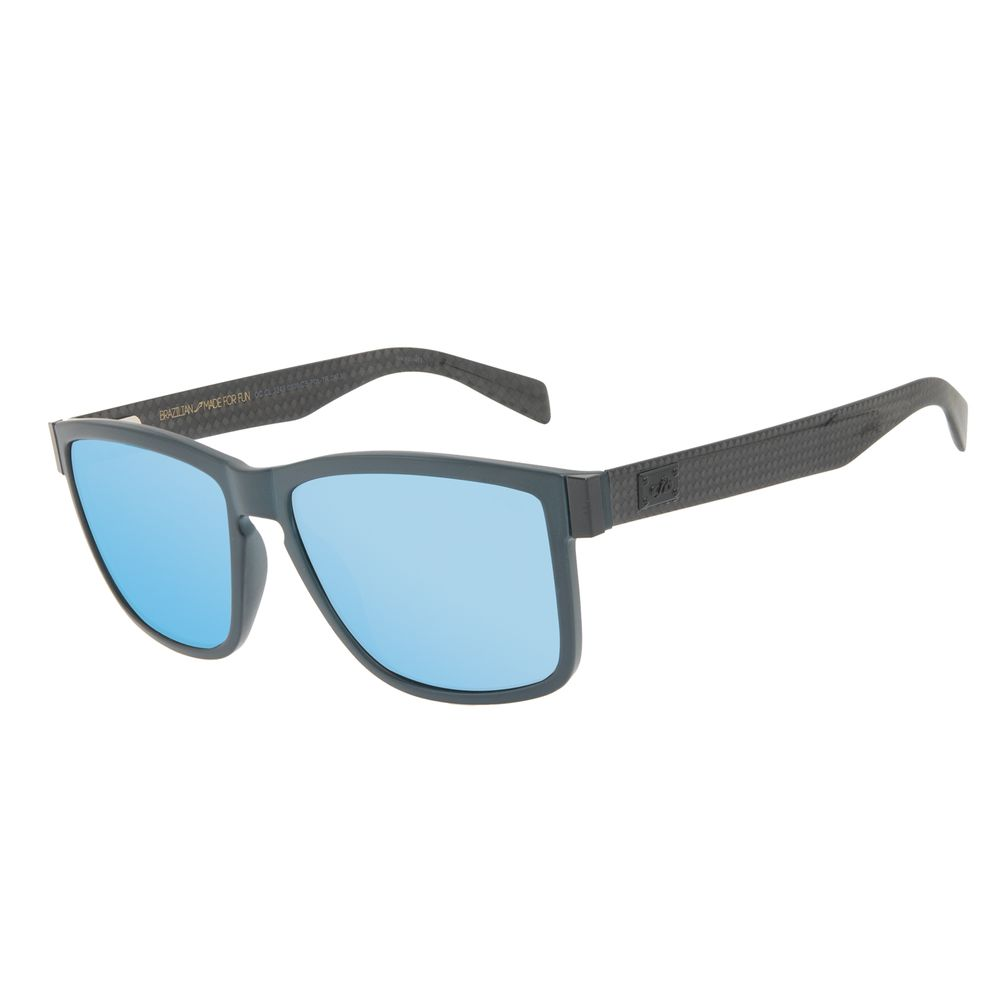 Óculos de Sol Masculino Chilli Beans Bossa Nova Polarizado Azul OC.CL.3249-0508
