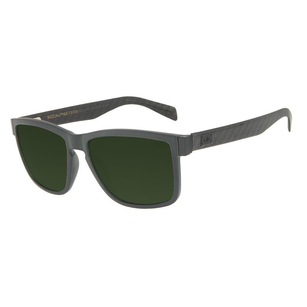 Óculos de Sol Masculino Chilli Beans Bossa Nova Polarizado Verde OC.CL.3249-1515