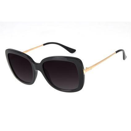 Óculos de Sol Feminino Chilli Beans Quadrado Max Preto OC.CL.3258-2001
