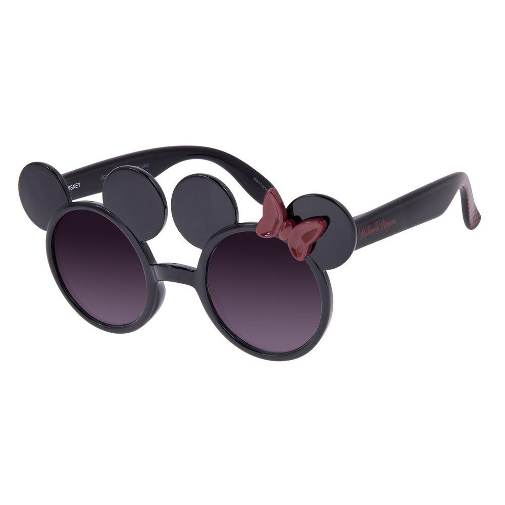 Óculos de Sol Infantil Disney Minnie Mouse Redondo Preto OC.KD.0701-2001