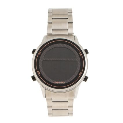 Relógio Digital Masculino Chilli Beans Metal Escovado Prata RE.MT.1005-0107