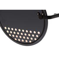 Óculos de Sol Feminino Minnie e Mickey Mouse Redondo Preto OC.MT.3115-0195.6