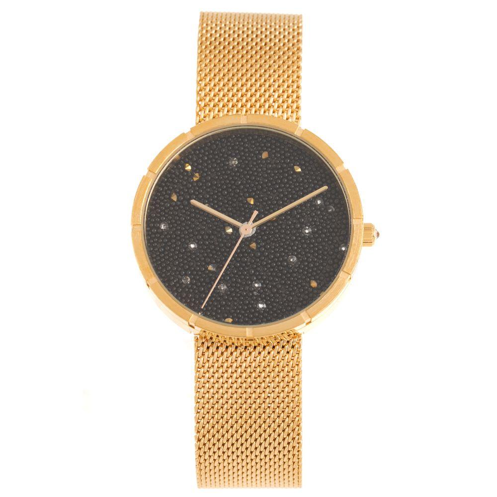 Relógio Analógico Feminino Chilli Beans Crystal Metal Brilho Dourado RE.MT.1212-0121
