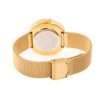 Relógio Analógico Feminino Chilli Beans Crystal Metal Brilho Dourado RE.MT.1212-0121.2