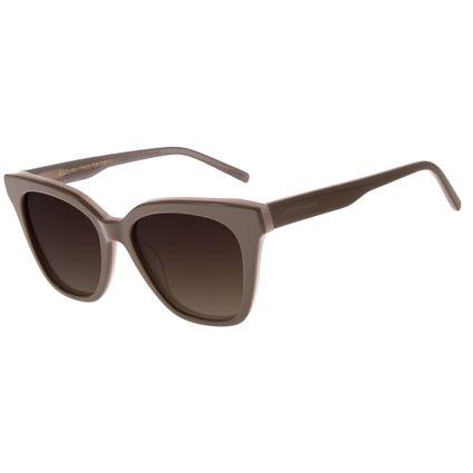 Óculos de Sol Feminino Chilli Beans Redondo Authentic Marrom OC.CL.3271-5702