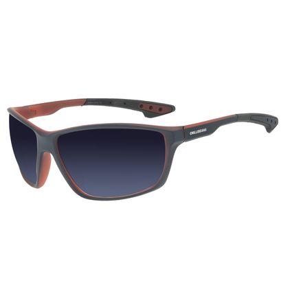 Óculos de Sol Masculino Chilli Beans Performance Fosco Azul OC.ES.1272-0008
