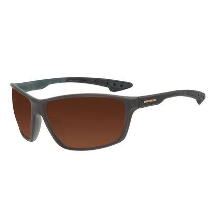 Óculos de Sol Masculino Chilli Beans Performance Fosco Marrom OC.ES.1272-0202