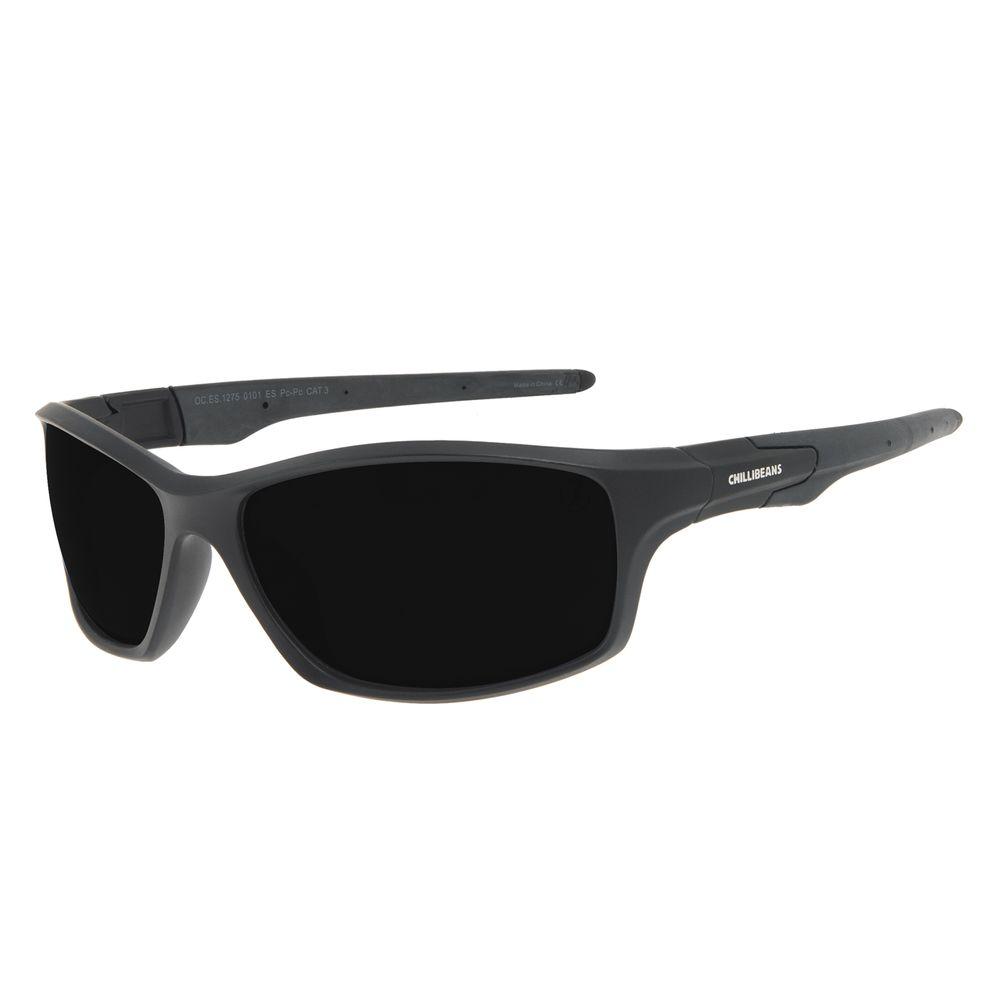 Óculos de Sol Masculino Chilli Beans Performance Sport Preto OC.ES.1275-0101