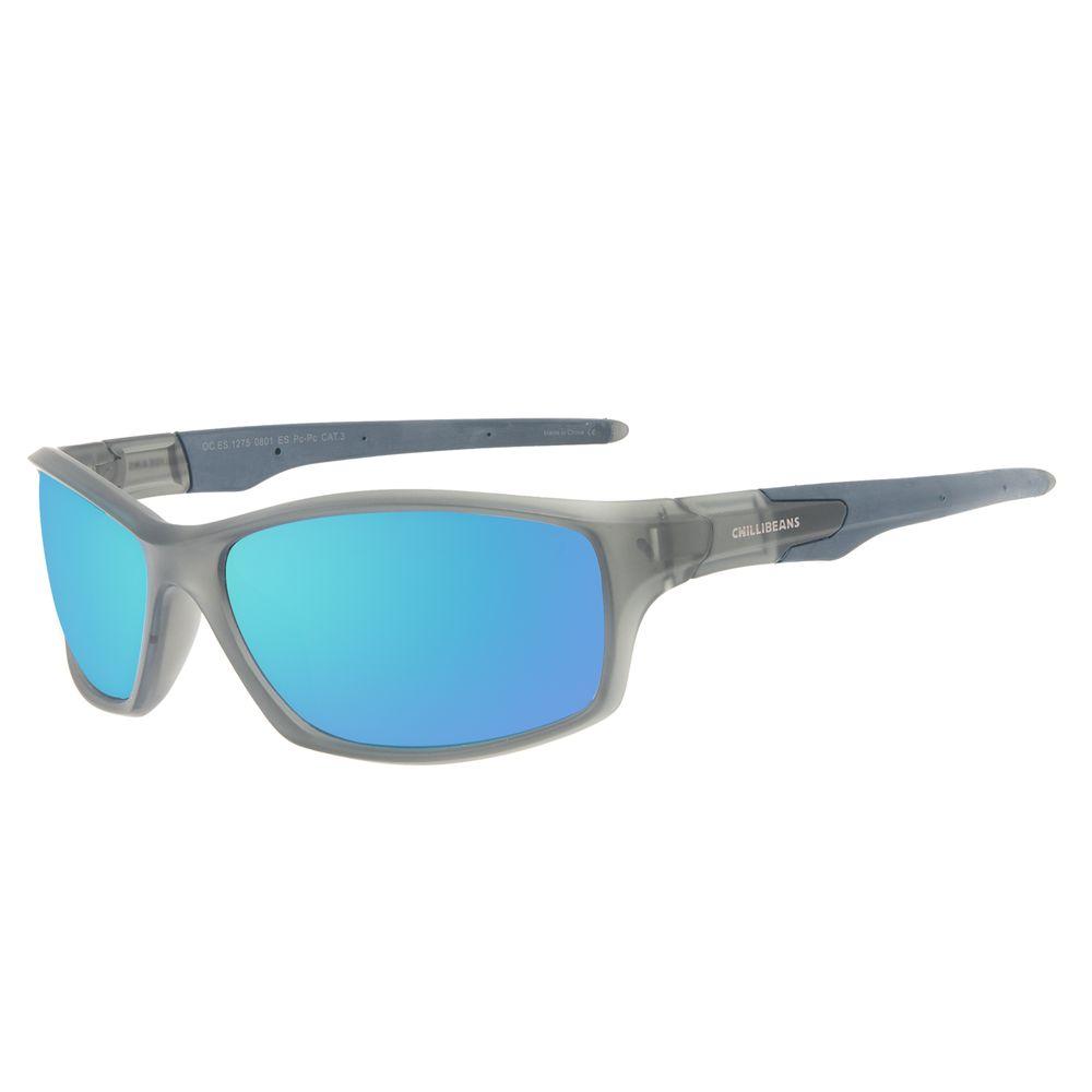 Óculos de Sol Masculino Chilli Beans Performance Sport Azul OC.ES.1275-0801