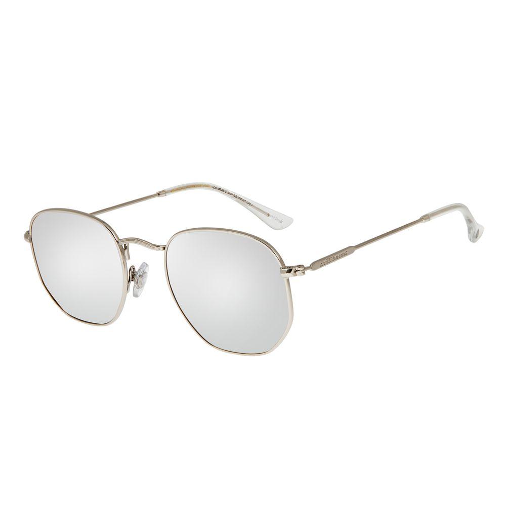 Óculos de Sol Unissex Chilli Beans Quadrado Hexagonal Espelhado OC.MT.3076-3207