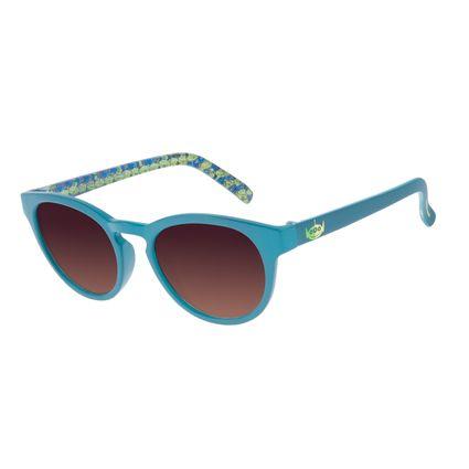 Óculos de Sol Infantil Toy Story Aliens Redondo Azul Claro OC.KD.0659-5759