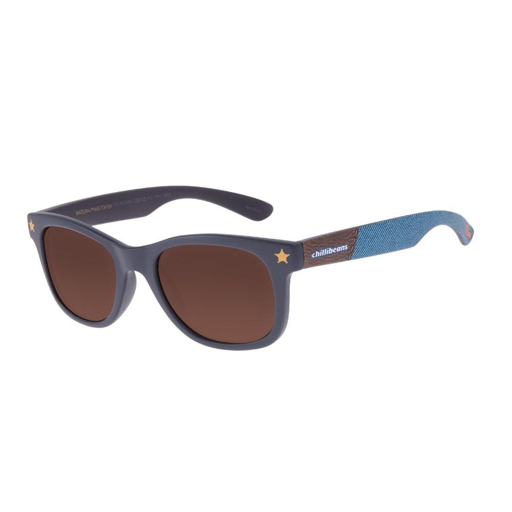 Óculos de Sol Infantil Toy Story Woody Sherife Bossa Nova Azul Escuro OC.KD.0661-0290