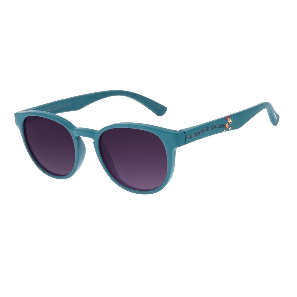 Óculos de Sol Infantil Toy Story Slinky Redondo Azul Claro OC.KD.0694-2059
