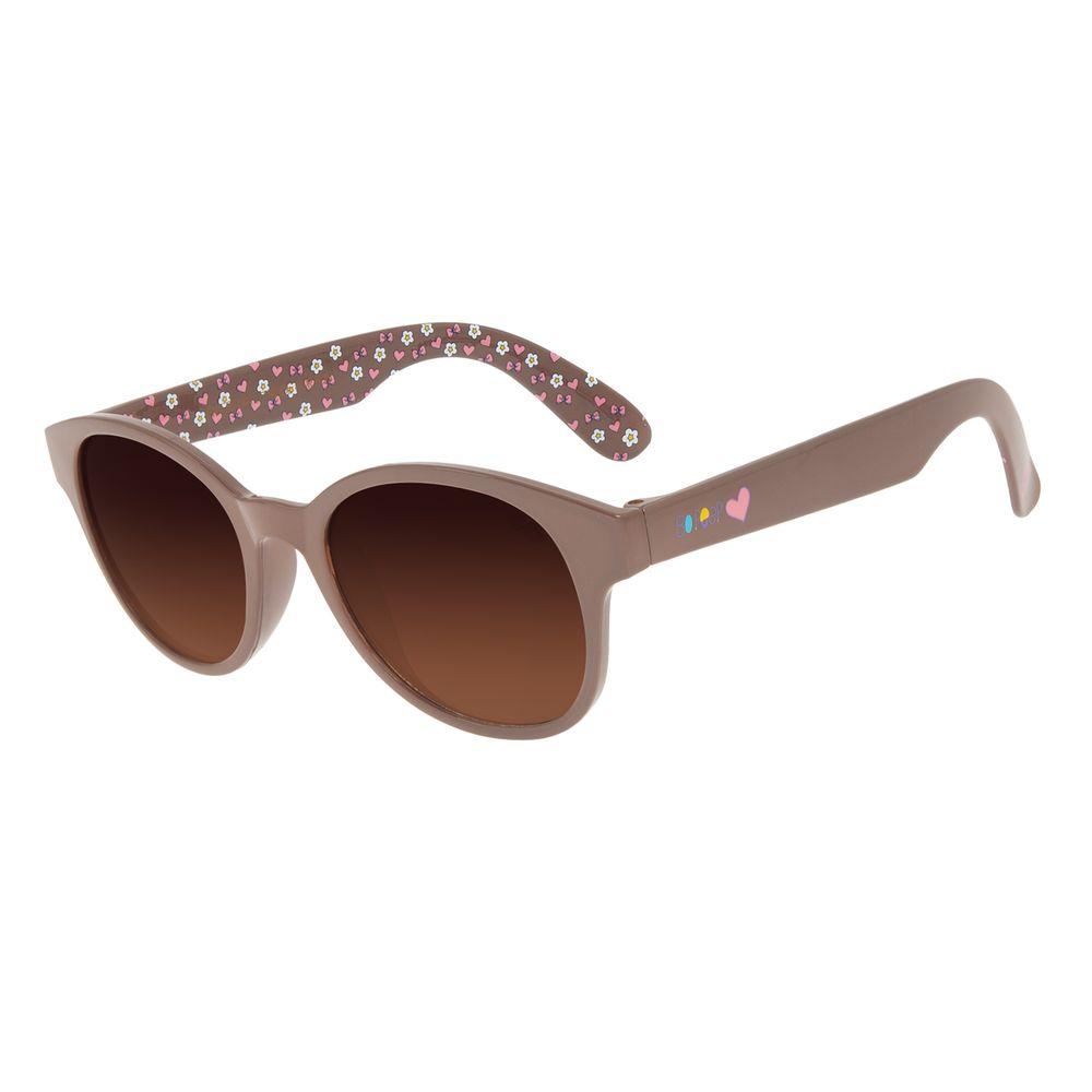 Óculos de Sol Infantil Toy Story Bo Peep Redondo Degradê Marrom OC.KD.0691-5723